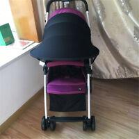 Poussette bébé Pare-soleil Canopy Cover pour landaus Pare-soleil poussette Co GL