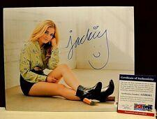 Jackie Evancho Signed Autograph 8x10 COA PSA/DNA