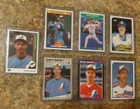 (7) Randy Johnson 1989 Upper Donruss Score Fleer Topps Traded Rookie card lot