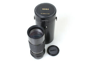 100-200mm f4.5 Macro Zoom for Pentax K w/ Original Front and Rear Caps, and Case