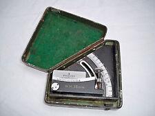 Geschütz Winkelmesser W.M.35 bvu in Originalbox Flak 8,8 WK2 Dachbodenfund