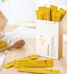 [innisfree] jeju ginger honey Sleeping Pack (4ml x 15ea ) + Gift Sample
