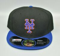 New York Mets New Era 59FIFTY Men's Fitted Cap Hat - Size: 8 1/8