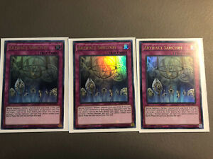 Yu-Gi-Oh! Artifact Sanctum (NM Ultra Rare), 1st ed, BLAR-EN075 x 3