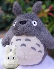 "TOTORO 12"" Stuffed New Japanese Ghibli My Neighbor Plush Doll 4.5 Small White"