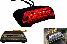 Universal E-marked LED Motocross Supermoto Cafe Racer Motorcycle Stop Tail Light