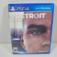 PS4 Detroit: Become Human (Sony PlayStation 4, 2017)