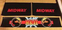 Mortal Kombat 2 Arcade Control Panel Box Art Artwork MK2 CPO Midway