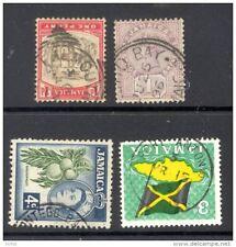 JAMAICA, postmarks  FALMOUTH , ANNOTTO BAY, MONTEGO BAY, PORT ANTONIO  (D)