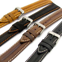 Genuine Leather Water Resistant Watch Strap Band 16mm 18mm 20mm 22mm LB02
