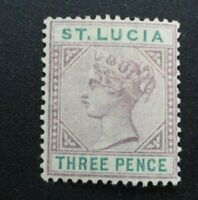 St. Lucia #32 Mint Hinged (M8U1) WDWPhilatelic