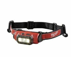 Milwaukee 2111-21 USB Rechargeable 475 Lumens Hard Hat HeadLamp Light Kit