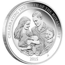 HRH Birth Of Princess Charlotte 2015 1oz Silver Proof Coin - 02-05-2015