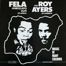 Fela Kuti & Roy Ayers - Music Of Many Colours - Rainbow Starburst Vinyl RSD 2019