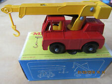Matchbox 1-75  No.42c Iron Fairy Crane  [now further REDUCED ]