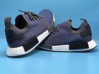 Adidas NMD R1 STLT PK Mens SZ 10.5 CQ2388 HiRes Blue Primeknit Retail Price$170