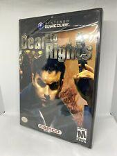 Dead to Rights (Nintendo GameCube, 2002) SEALED NEW NIB