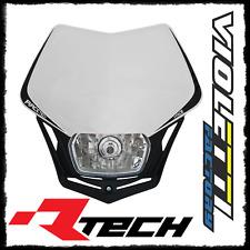 Mascherina Faro Anteriore Racetech Rtech V-FACE Bianca KTM Moto Headlight