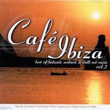 CAFE IBIZA 2 = Ibizarre/Zippel/Nor Elle/Muki...=2CD= DOWNTEMPO AMBIENT CHILLOUT