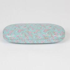 Sass and Belle Glasses case - Mint Floral design Hard Reading glasses case