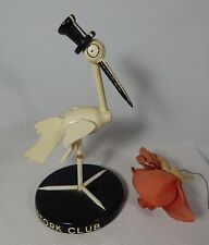 Deco Stork Club Wood Table Center Piece 1940's