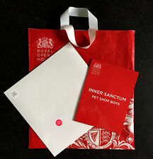 "PET SHOP BOYS * INNER SANCTUM 12"" VINYL + ROYAL OPERA HSE PROGRAMME * BN * SUPER"