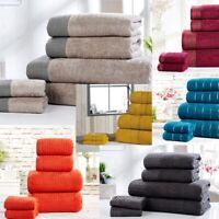 100% Combed Cotton Super Soft Absorbent 6 Piece Bathroom Towel Bale Set