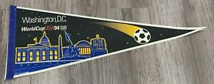 Vintage, WASHINGTON D.C., WORLD CUP U.S.A. 1994, Souvenir Felt Pennant