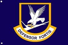 Security Forces / Defensor Fortis Large Blue Flag