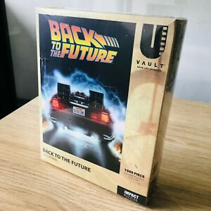 Back To The Future Delorean 1000 Piece Jigsaw Puzzle - 50 x 70cms