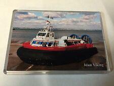 HOVERTRAVEL Hovercraft IDUN VIKING Large Fridge Magnet Ferry Solent I.o.Wight