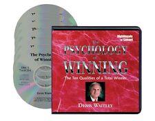NEW 6 CD The Psychology of Winning Denis Waitley (NIGHTINGALE CONANT)