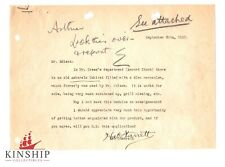 Thomas Edison signed Letter w Handwriting JSA LOA Inventor Rare d.1931 Z413