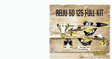 RIEJU MRT 50 125 FULL GRAPHICS KIT-FULL STICKER KIT-DECALS-MX YELLOW