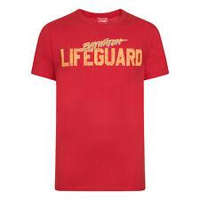 Baywatch Official Gift Mens Classic Logo Lifeguard T-Shirt