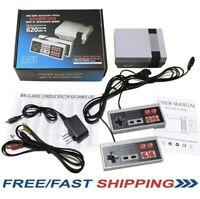 Mini Retro Game Nintendo NES Console 620 Built-In Classic Games And 2 Controller