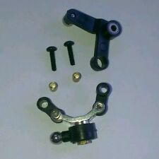 Align Trex 450 tail pitch slider and bell crank set for most of the 450 range