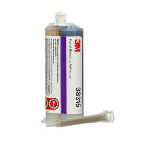 50mL Cartridge 3M Auto Body Panel Bonding Adhesive Two-Part Epoxy 38315 - Black