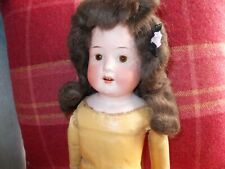 ANTIQUE BISQUE HEADED HEUBACH DOLL 18'' CIRCA 1900 'JENNY'. 275-6 /OX