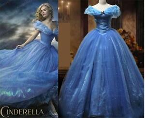 Cinderella Princess Fancy Dress Costume Cosplay Ladies Tulle Skirt Party Outfit