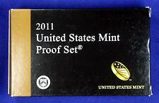 2011-s U.S. Clad 14 coin Proof Set. Contains 3 sets. Proof set, .25 set & $1 set
