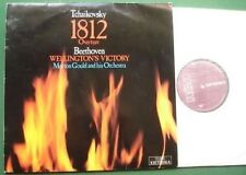 Tchaikovsky 1812 + Beethoven Wellington's Victory LP