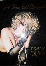 LET THEM EAT CHEESECAKE THE ART OF OLIVIA BY JOEL BEREN *SIGNED*