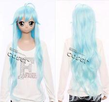 w-217 denpa onna to seishun otoko Meme Towa cosplay peluca wig 87cm Azul Azul
