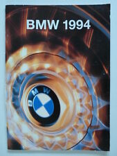 BMW Range 1994 UK Market brochure prospekt - 3 5 7 8 Series & M3 Coupe M5 850CSi