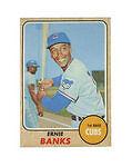 1968 Topps Ernie Banks Chicago Cubs #355 Baseball Card