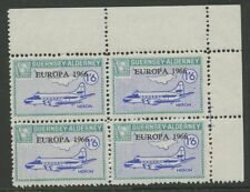 Guernsey ALDERNEY 1966 Europa 1/6 PERF PROOF block 4