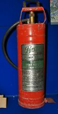 Vintage  Pyrene  fire extinguisher steel, redwaterpump style23""