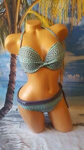 Venice Beach Push up Bikini mint-grey super schön NP ab 63,98€