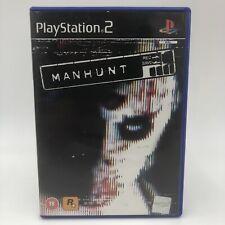 Manhunt PS2 PlayStation 2 PAL Game Complete 18+ Brutal Action Rockstar